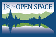 1 Percent for Open Space logo