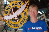 Ali Fuchs of Big Al's Bicycle Heaven