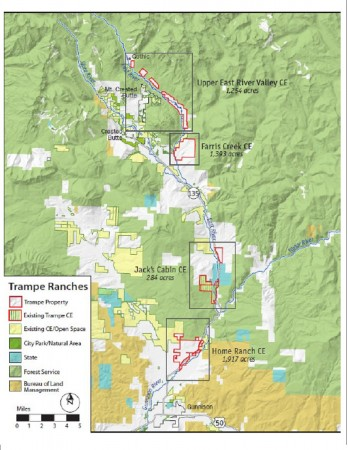 Parcels of the Trampe Ranch to be permanently preserved in Crested Butte, Almont and Gunnison