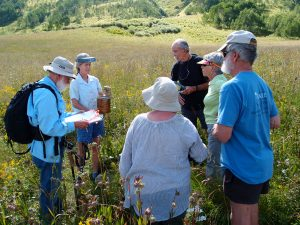 Choose one or both of the Wildflowers & Science Extravaganzas! Snodgrass: Saturday, July 15. Gothic / Gunsight / Kochevar: Saturday, August 12, 8 a.m. – 5:30 p.m.